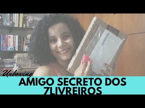 UNBOXING: AMIGO SECRETO DOS 7LIVREIROS | VLOGMAS #25 - FELIZ NATAL ? | Livraneios