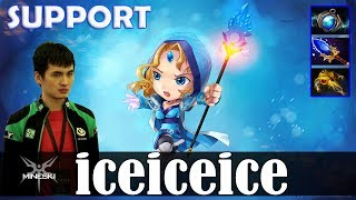 iceiceice - Crystal Maiden Roaming | SUPPORT | Dota 2 Pro MMR Gameplay