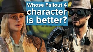 Ciri(The Witcher 3) Character Creation in Fallout 4 - Most