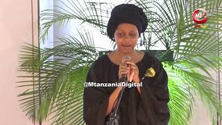 Nandy Hadi Huruma, Ashindwa Kuimba Mbele Ya Jeneza La Ruge