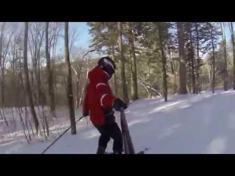 Видео: Видео горнолыжного курорта Орлиное (Кучелиново) в Приморский край