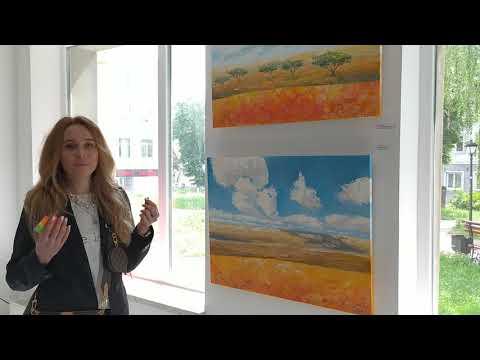 Картини художниці Ірини Зизи - YouTube