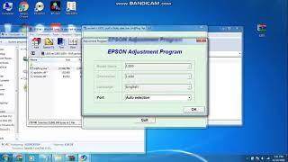 epson l805 resetter and adjustment program download - Kênh