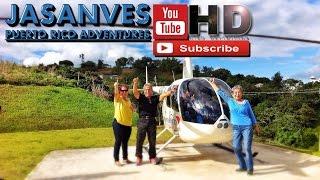 preview picture of video 'Admirando Las Bellezas Naturales de Barranquitas en Helicóptero - Puerto Rico 2015'