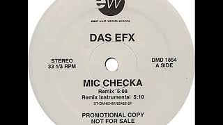 Das EFX - Mic Checka (Remix) (Dirty) (1992) (HD Audio)