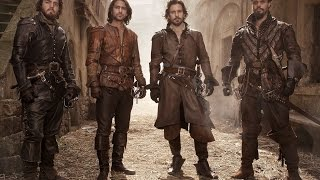 The ravine escape - The Musketeers: Series 2 - BBC One