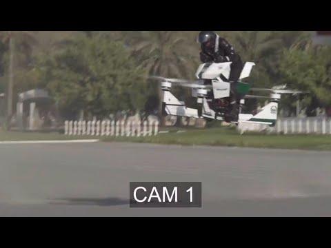 شاهد.. فشل الدراجة الطائرة الروسية