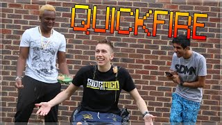 QUICKFIRE QUESTIONS CHALLENGE!