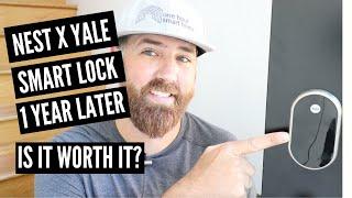 Nest Smart Lock 1 Year Later (Nest x Yale Lock)