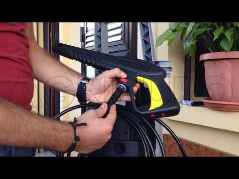 Montaggio della idropulitrice Lavorwash a freddo Lavor Race 125