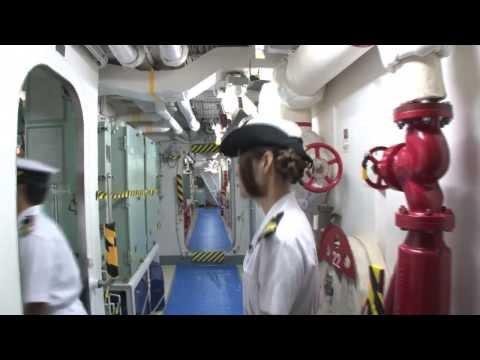 【声優動画】ハルナ役の山村響が海上自衛隊に体験入隊