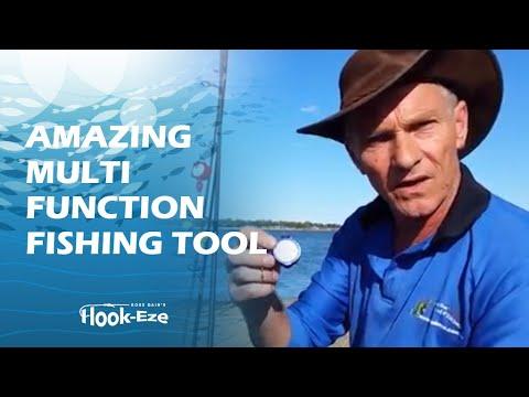 Hook-Eze … Amazing multi function fishing tool