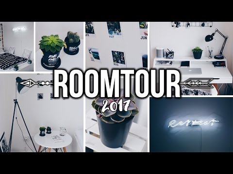 ROOMTOUR - Minimal & Tumblr inspired! | ItzJul