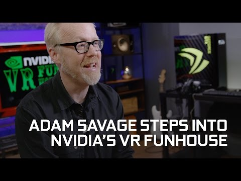 Nvidia Put Adam Savage From Mythbusters Into Its VR Funhouse