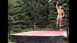 BUILDING A WWE WRESTLING RING (PRO WRESTLING)