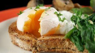 Яйцо пашот. Poached egg.