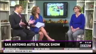 San Antonio Auto and Truck Show on KENS 5's Saturday Morning Eyewitness News