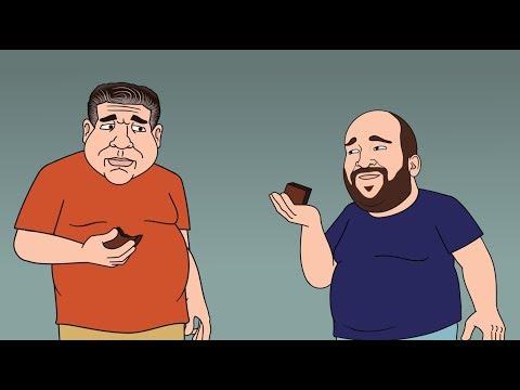 Joey Diaz's Edible Moment - JRE Toon