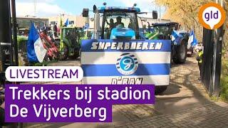 Boeren zwaaien Superboeren uit bij stadion De Vijverberg | Omroep Gelderland