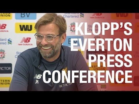 Jürgen Klopp's pre-Everton press conference | Team news, Henderson, Fab 4 and more...