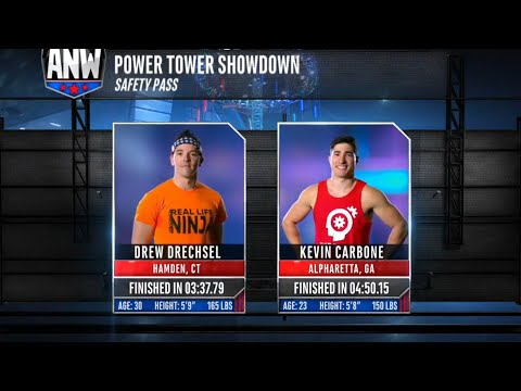 Power Tower: Drew Drechsel vs Kevin Carbone (Safety Pass)