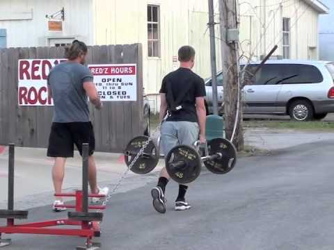 Epic Strength & Conditioning-Farmer's Walk With Harness Prowler Drag