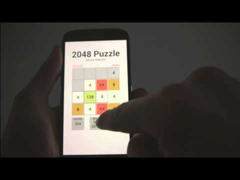 Video of 2048 Number Puzzle