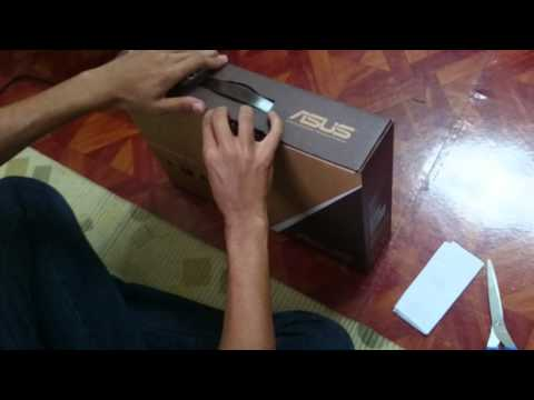 ASUS A450LD Unboxing
