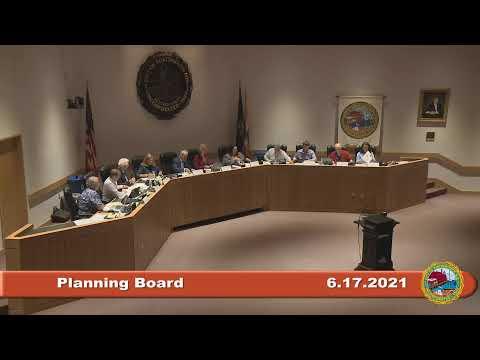 Planning Board 6.17.2021