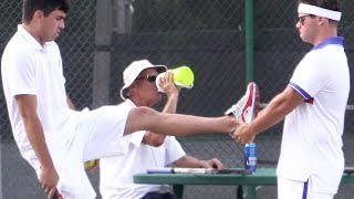 BEEFING Tennis Players!