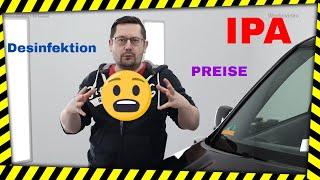 Corona Zeit, IPA Preise, Desinfektionsmittel von Sonax - Autopflege-Shop