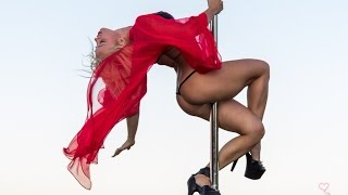 The world's best pole dancer - Anastasia Sokolova - Pole Dance - Ibiza 2014