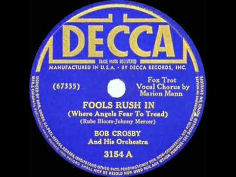 Fools Rush In cover