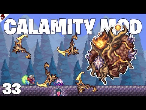 Terraria # 33 POWERFUL FLAME SCYTHE - Calamity Mod Let's Play
