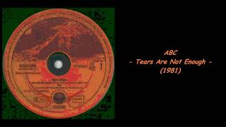 ABC - Tears Are Not Enough (1981)