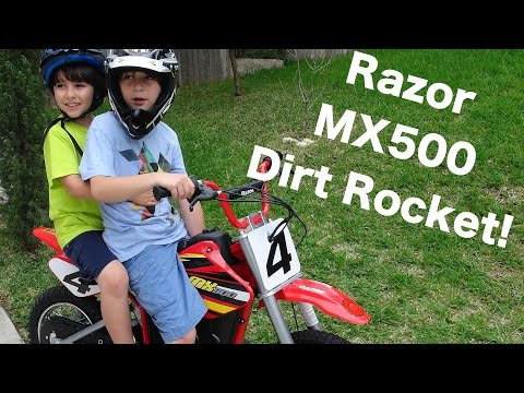Robert-Andre's Razor MX500 Dirt Rocket!