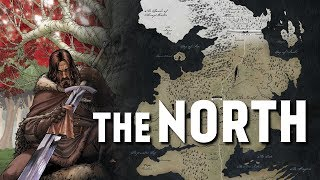 the North - Map Detailed (Game of Thrones)