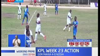 Gor-Mahia thrashes Nzoia Sugar 4-nill extending their lead at the Kenyan premier league to 9 points