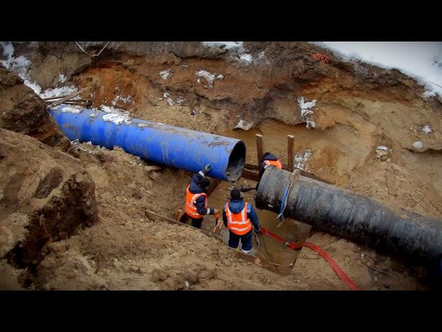 В Твери продолжаются работы по модернизации водовода в Затверечье