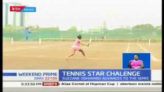 Ibrahim Kibet sails into Tennis Star Challenge