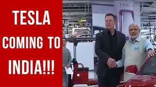Tesla is coming to India this summer!!! || Hindi