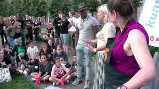 Feestelijk welkom voor Sacha Ausems in Waalwijk