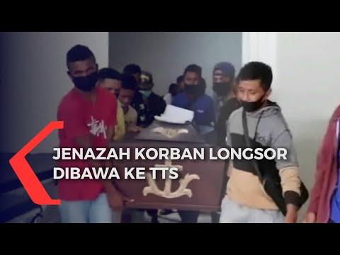 Jenazah Pasutri Korban Longsor Dimakamkan di Kampung Halamannya di TTS