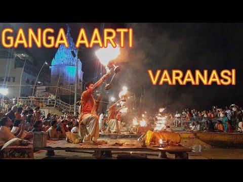 GANGA AARTI VARANASI | BANARUS GHAT AARTI | HOLY RIVER GANGAS HINDU WORSHIP RITUAL | ഗംഗാ ആരതി