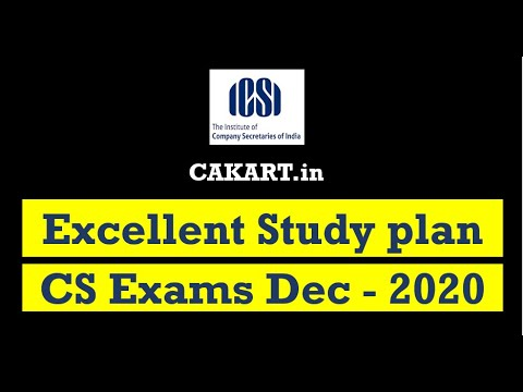 CS Exams Best Study Plan