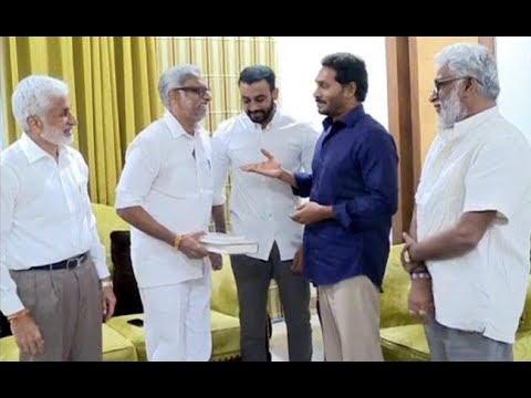Daggubati Meets YS Jagan Mohan Reddy