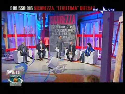 Intervento del Segretario Enzo Letizia a 'Sabato e Domenica'