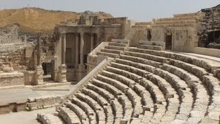 preview picture of video '[Israel 3D] Lower Galilee (5-1) Beit Shean National Park Part1'
