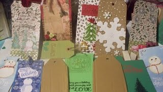 DIY Gift Tags -- Some Tips On Getting Started -- Make Your Own Shipping Tag Base & Other Tips