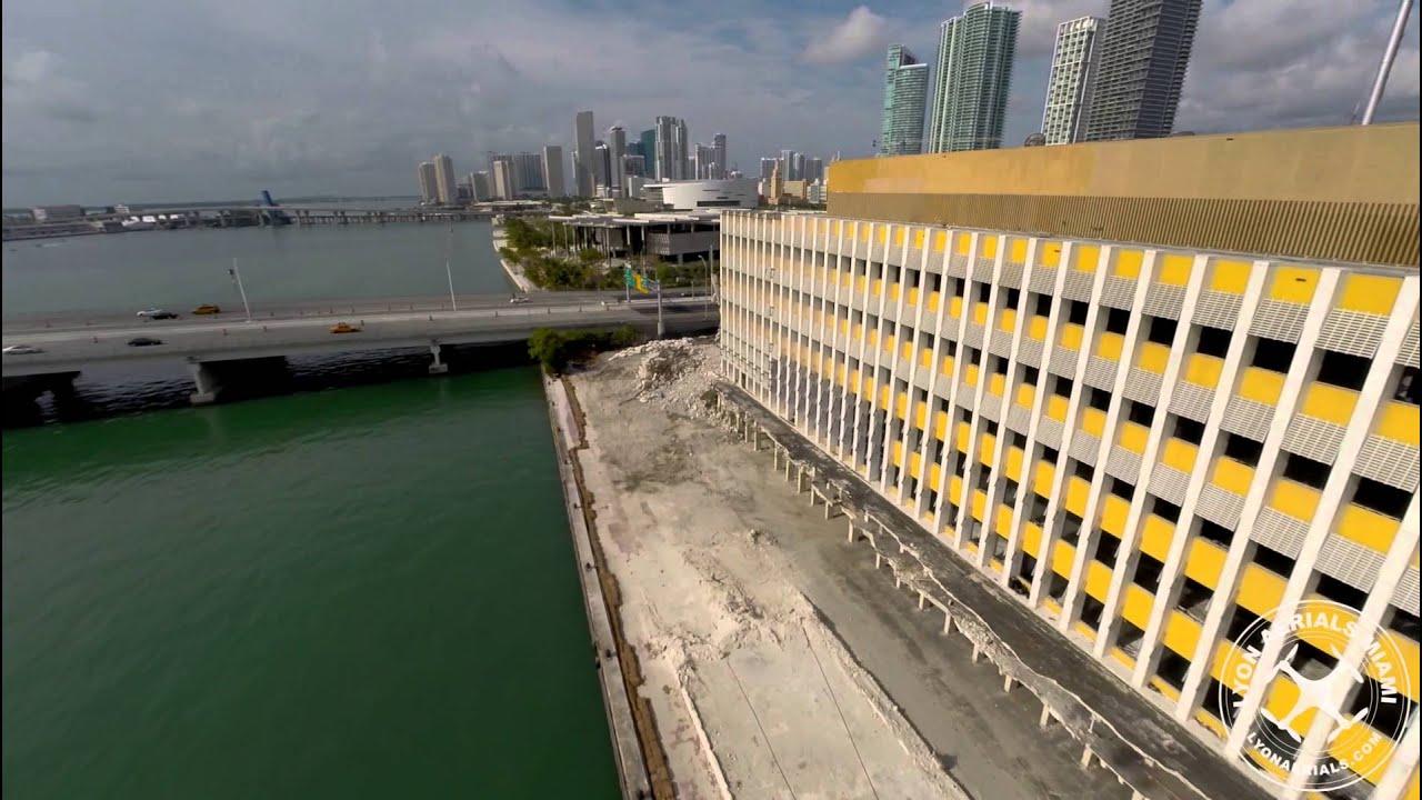 Miami Herald Building Demoiition